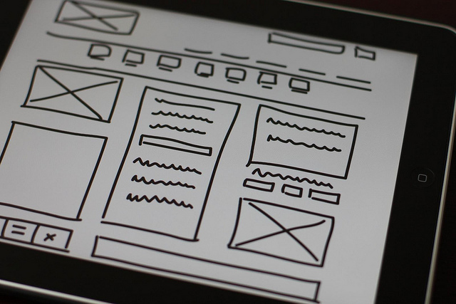 Web Design Wireframe